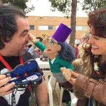 Juan Rubiales y Mini Juan