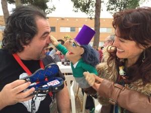 Juan L. Rubiales y Mini Juan